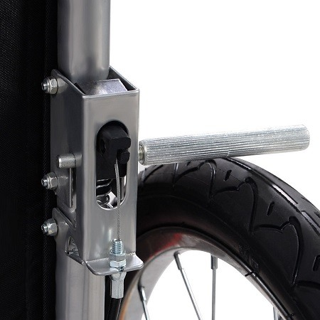 Brake On Bike Trailer