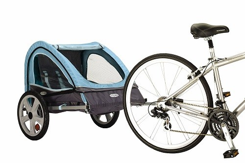 InStep Take 2 Double Bicycle Trailer On Bike