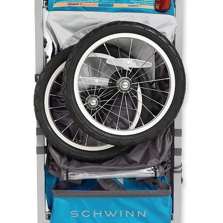 Schwinn Trailblazer Single Bike Trailer Packed