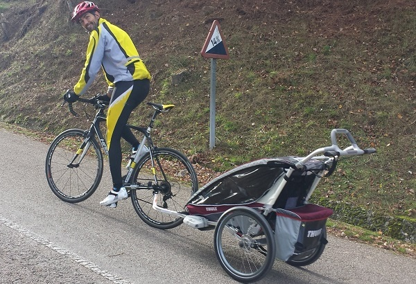 Bike Trailer Ascents