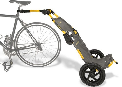 Burley Travoy Bike Trailer On White Background