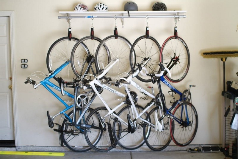 On A Budget? Learn How To Make Your Own Bike Rack!